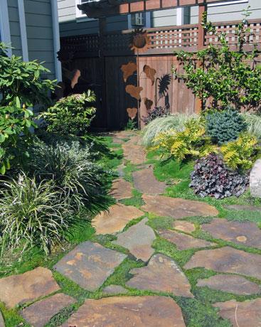 Flagstone designs landscape ideas fine gardening for New garden design ideas